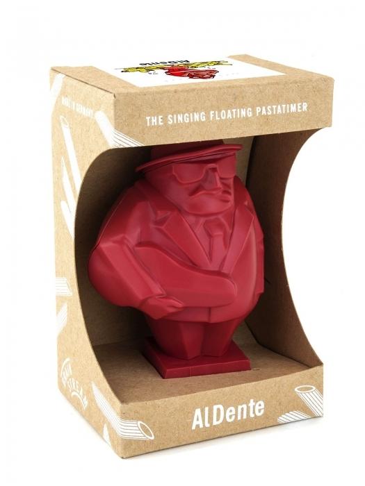 Al Dente śpiewający mafian  -  czasomierz do gotowania makarona