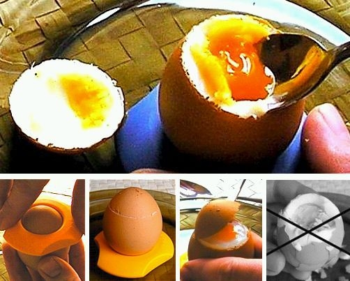 Limette stojak na jaja otwieracz do jajek