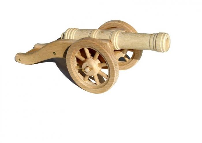 drewniana-armata-zabawky