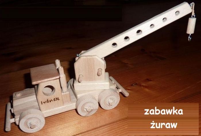 zabawki z drewnia