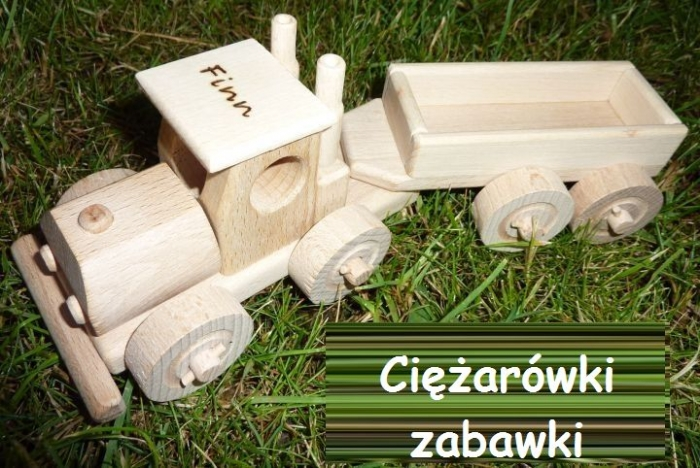 ciezarovka z drewnia