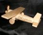 Samolot z drewna dla dzieci