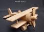 Samolot drewniana zabawka