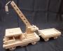 Drezyna - kolejki z drewna
