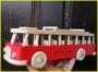 czerwony autobus zabawka prezent dla dzieci