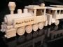 Pociąg, pociąg lokomotyw, prezent dla maszynistów
