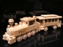 Pociąg, pociąg lokomotyw, prezent