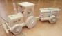 traktor z drewnia