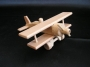Platforma i samolot z drewna